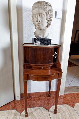 Inlaid Side Cabinet, Louis XVI, Mahogany