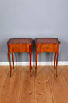 A very rare pair of Occasional Tables in the Louis XV-Stile 001