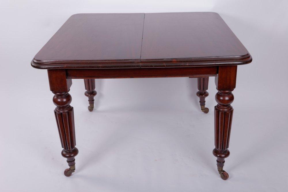 Extending Dining Table Mahogany Victorian England Ca 1870 Ceres Webshop