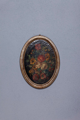 Pair of flower Still Lifes in the original frame – Bild 1