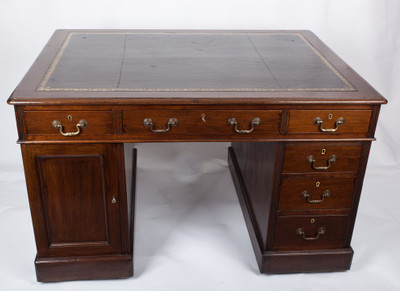 Small Partner´s Desk, Mahogany, Victorian, England ca. 1870 – Bild 1