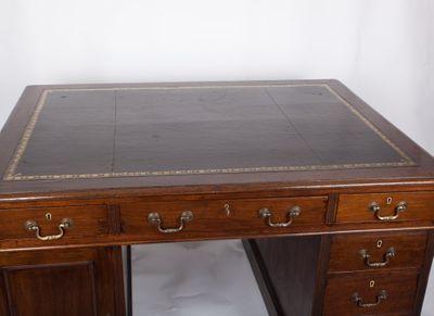Small Partner´s Desk, Mahogany, Victorian, England ca. 1870 – Bild 7
