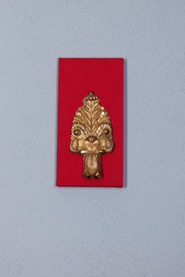Decorative brass applique