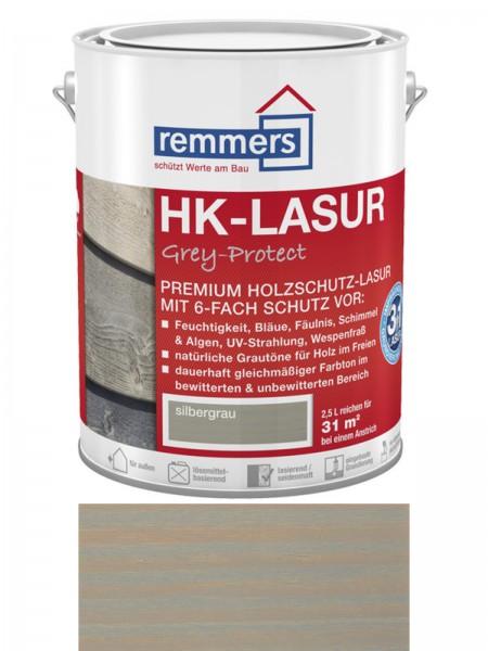 Remmers Aidol HK-Lasur Grey Protect 6-fach Schutz  2257 silbergrau 2,5l – Bild 1