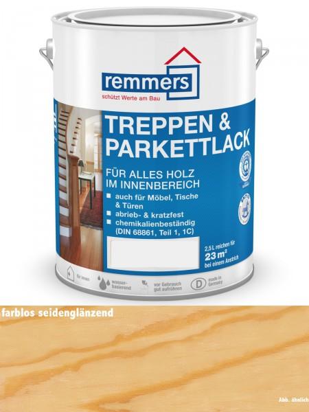 Remmers Treppen- & Parkettlack 2390 farblos Seidenglanz 2,50l