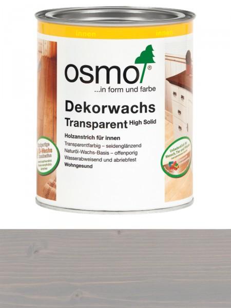 Osmo Dekorwachs 3119 Seidengrau 0,75L High Solid transparent seidenglänzend für innen