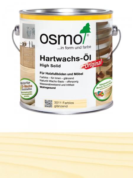 Osmo Hartwachsöl Farblos 3011 2,5L High Solid glänzend