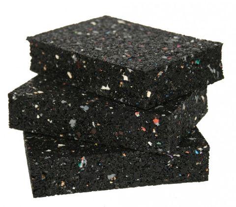 Isopat aus XennoX® Gummigranulat                   60x90mm Stärke 20mm  12 Stück/Paket – Bild 2