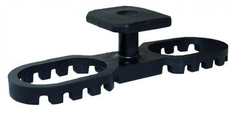 Terraflex inkl. Edelstahlschraube     für Terrassendielen 20-26mm VPE 30 Stück – Bild 1