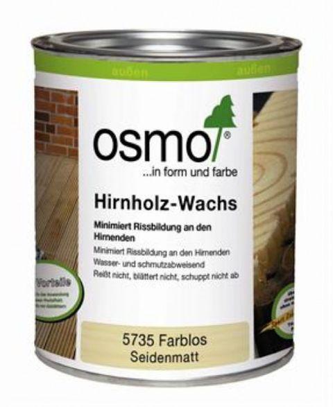 Osmo Hirnholzwachs Stirnkantenwachs farblos  5735 0,375L – Bild 2