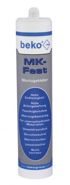 MK-Fest Montagekleber  weiß beko  310 ml