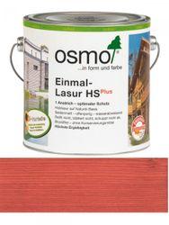 Osmo Einmal-Lasur 9234 Skandinavisch Rot HS Plus, transparent seidenmatt 2,50L 001