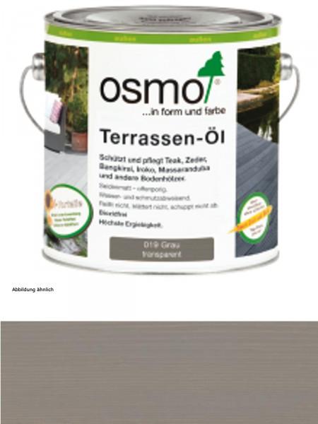 Osmo Terrassenöl   019  Grau     2,50 L Holz-Spezial-Öl, seidenmatt für außen