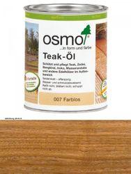 Osmo Teak-Öl High Solid  007     0,75L Holz-Spezial-Öl, seidenmatt für außen kein UV-Schutz! 001