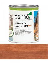 Osmo Einmal-Lasur 9232 Mahagoni HS Plus, transparent seidenmatt 0,75L   für außen 001