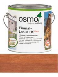 Osmo Einmal-Lasur 9232 Mahagoni HS Plus, transparent seidenmatt 2,5L für außen 001