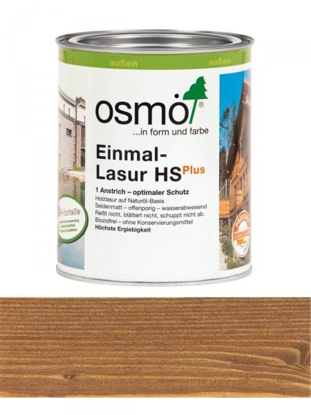 Osmo Einmal-Lasur 9261 Nussbaum HS Plus, transparent seidenmatt 0,75L   für außen – Bild 1