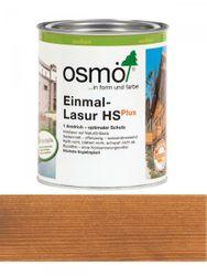 Osmo Einmal-Lasur 9262 Teak HS Plus, transparent seidenmatt 0,75L   für außen 001
