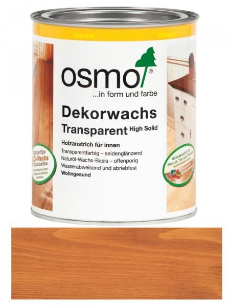Osmo Dekorwachs 3137 Kirschbaum 0,75L High Solid transparent seidenglänzend   für innen – Bild 1
