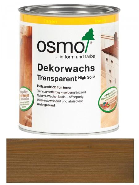 Osmo Dekorwachs 3168 Eiche Antik 0,75L High Solid transparent seidenglänzend   für innen