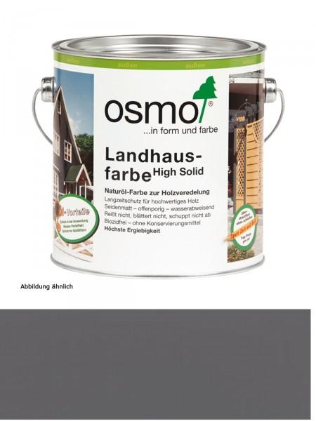 Osmo Landhausfarbe 2704 Steingrau 2,5 Liter