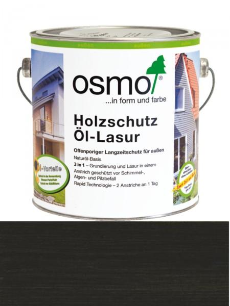OSMO Holzschutz Öl-Lasur 712 Ebenholz transparent, seidenmatt 0,75L   Nur für außen, enthält Biozide