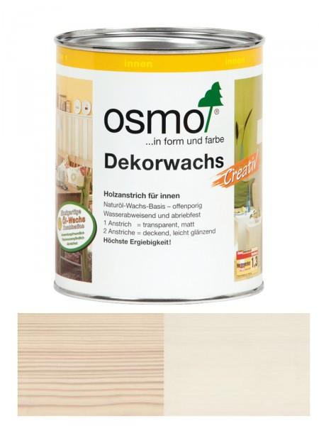 Osmo Dekorwachs Creativ 3172 Seide für innen, transparent/deckend 0,375L