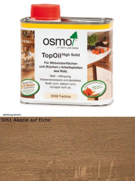 Osmo TopOil Akazie 3061            0,5L High Solid - für Möbel & Arbeitsplatten