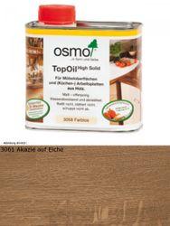 Osmo TopOil Akazie 3061            0,5L High Solid - für Möbel & Arbeitsplatten 001