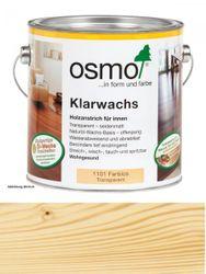 Osmo Klarwachs Farblos     1101    2,5L  für innen, transparent seidenmatt 001