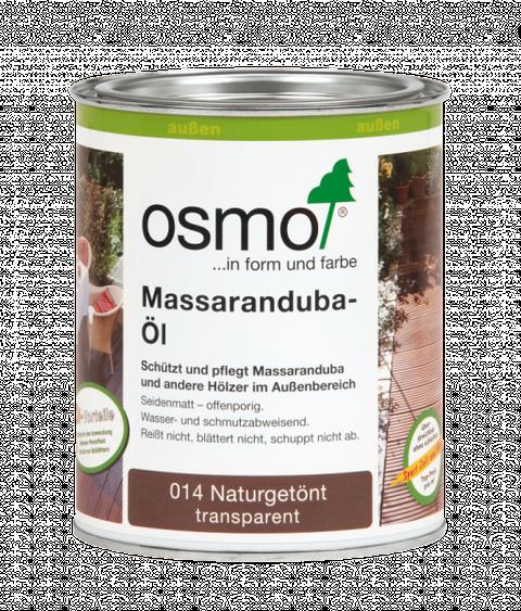 Osmo Massaranduba-Öl 014  0,75L Holz-Spezial-Öl, seidenmatt für außen – Bild 2