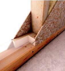Holzbauschrauben HBS 6,0x240mm TX25 weiß verzinkt   100 Stück/Paket mit Bit   Bohrspitze Senkkopf Fräsrippe Wax – Bild 5