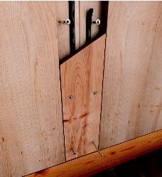 Holzbauschrauben HBS 8,0x280mm TX40 weiß verzinkt   100 Stück/Paket mit Bit   Bohrspitze Senkkopf Fräsrippe Wax – Bild 7
