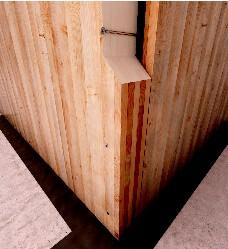 Holzbauschrauben HBS 8,0x340mm TX40 weiß verzinkt   100 Stück/Paket mit Bit   Bohrspitze Senkkopf Fräsrippe Wax – Bild 6