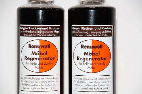 Renuwell Möbelpflege Möbel-Regenerator Möbelpolitur Holzpflege 270 ml – Bild 3