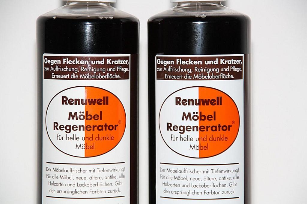 Renuwell Möbelpflege Möbel-Regenerator Möbelpolitur Holzpflege 500 ml – Bild 3