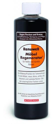 Renuwell Möbelpflege Möbel-Regenerator Möbelpolitur Holzpflege 500 ml – Bild 1
