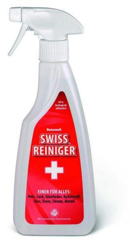 Renuwell Holzreiniger Glasreiniger Kunststoffreiniger Swiss Reiniger 500 ml