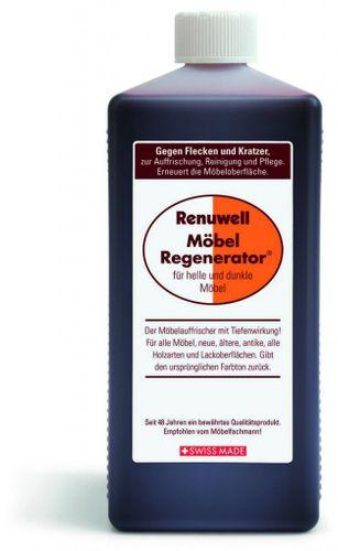 Renuwell Möbelpflege Möbel-Regenerator Möbelpolitur Holzpflege 1000 ml