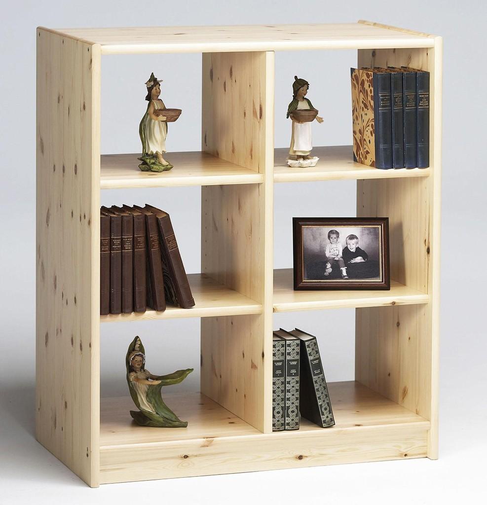 regal b cherregal b roregal 80x96 boris holz kiefer massiv lackiert. Black Bedroom Furniture Sets. Home Design Ideas