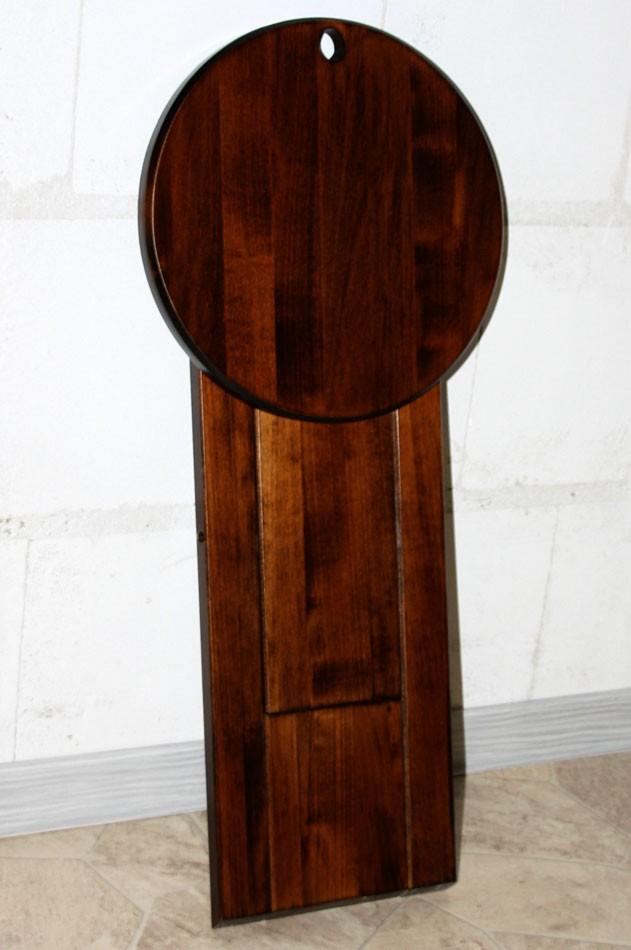 Hocker Klapphocker Blumenhocker Nachttisch Beistelltisch braun nussbaum Farbe – Bild 6