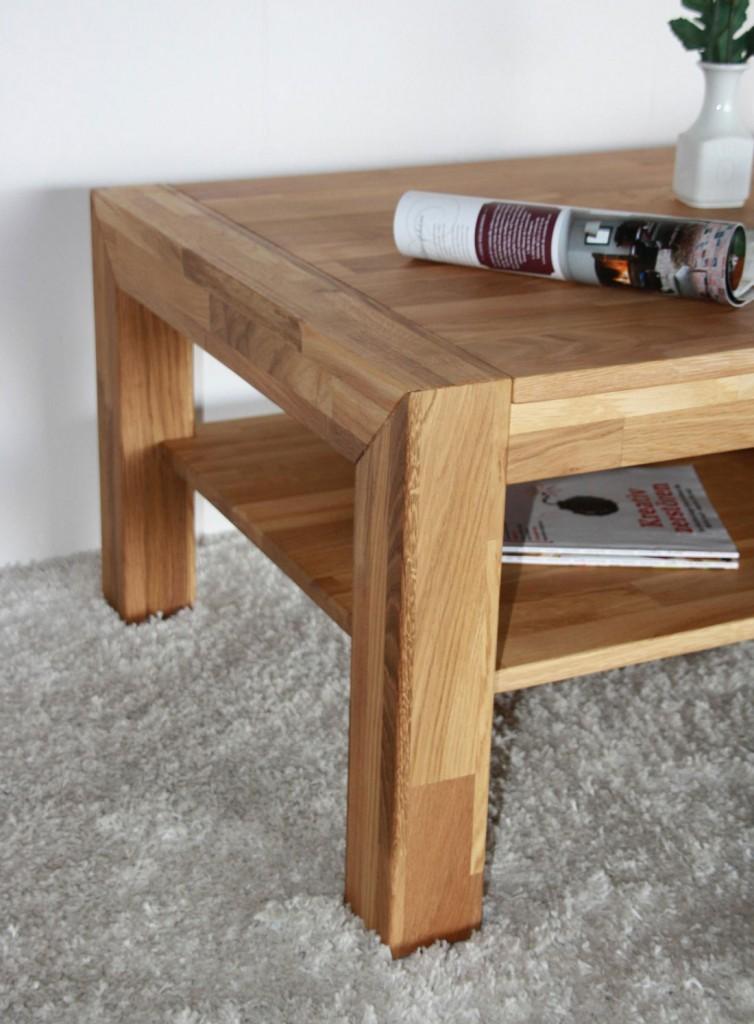 couchtisch eiche ge lt 110x70 wohnzimmertisch beistelltisch. Black Bedroom Furniture Sets. Home Design Ideas