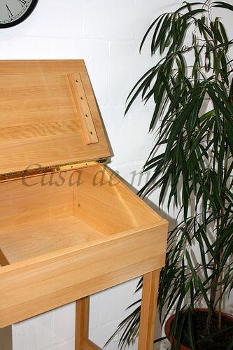 Stehpult 62x112x56cm DIETER Rednerpult Büromöbel Lesepult Buche geölt – Bild 8