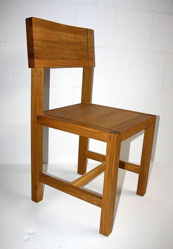 Holzstuhl eiche perfect stuhl nr a kernbuche buche eiche auch mit armlehne erhltlich with - Stuhl fur kleinkinder ...