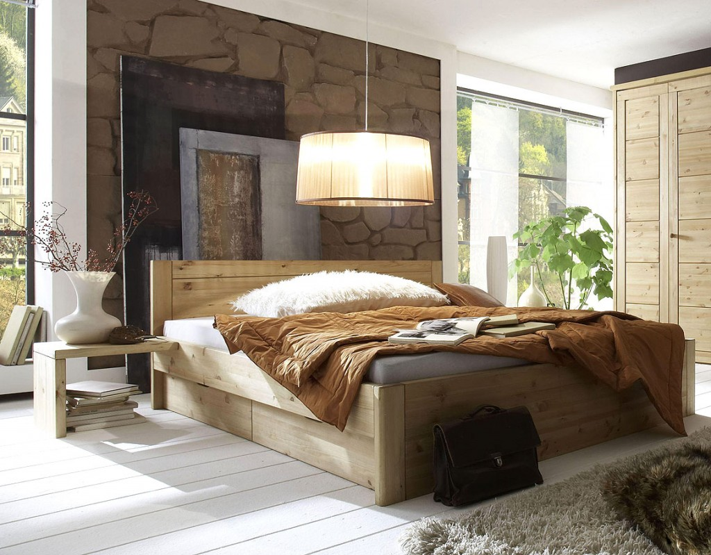 schlafzimmer kiefer massiv. Black Bedroom Furniture Sets. Home Design Ideas