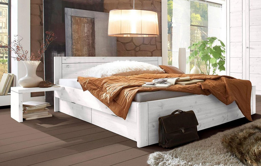 schlafzimmer landhausstil kiefer. Black Bedroom Furniture Sets. Home Design Ideas