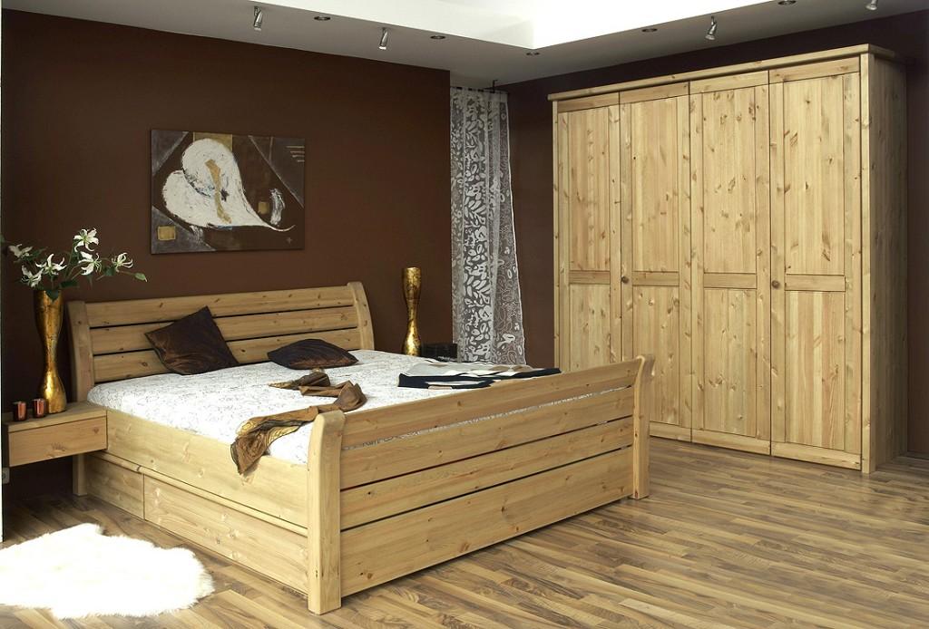 schlafzimmer komplett 6teilig landhausstil kiefer gelaugt geölt