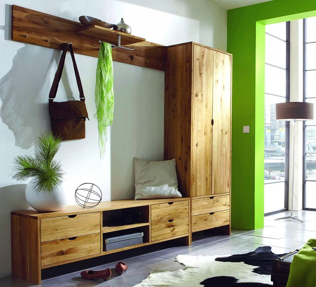 dielenschrank 62x194x36cm 2 t ren 2 schubladen wildeiche massiv ge lt. Black Bedroom Furniture Sets. Home Design Ideas