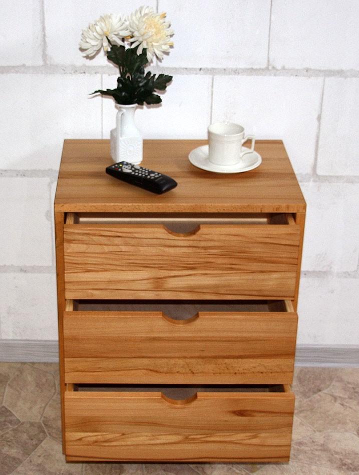 Kommode Schubladenkommode Holz massiv geölt – Bild 4