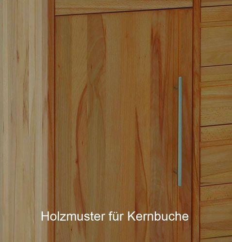 Garderoben-Set Dielenmöbel Flurmöbel Kernbuche Vollholz massiv geölt – Bild 7